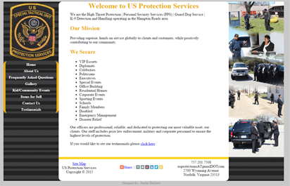 image: US Protection Services website